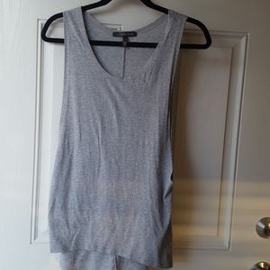 Victoria's Secret Heather Grey Long Tank